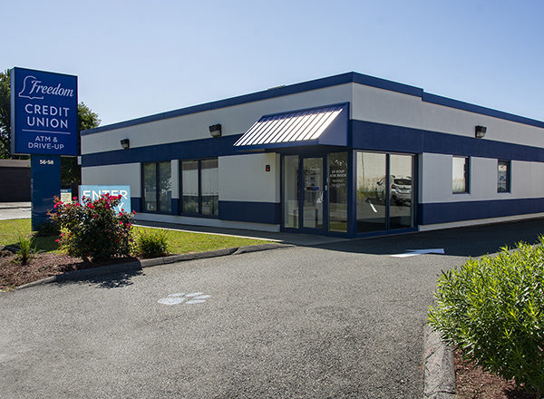 Freedom Credit Union West Springfield branch