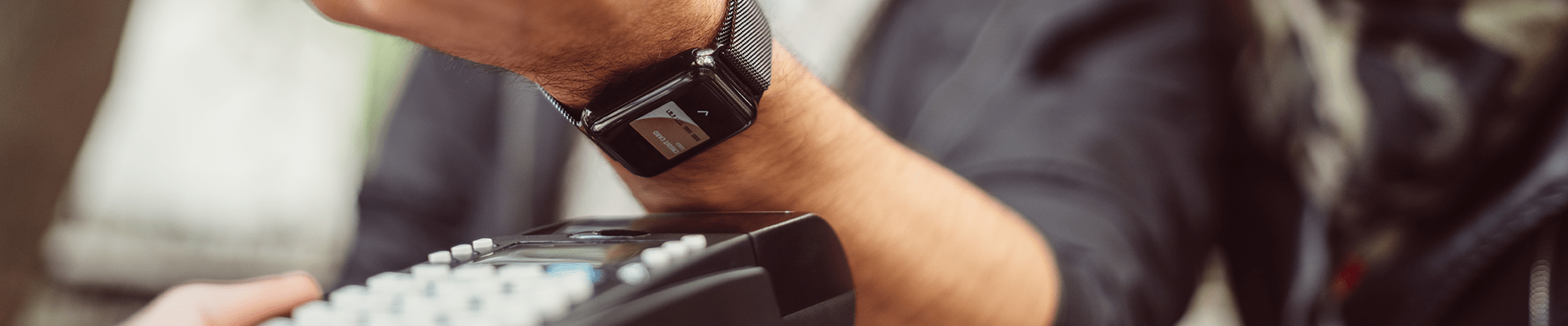 pay with smart watch